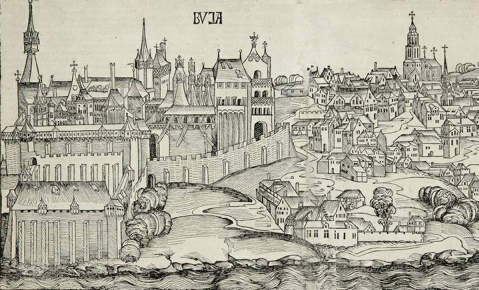 Buda Castle History Middle Ages