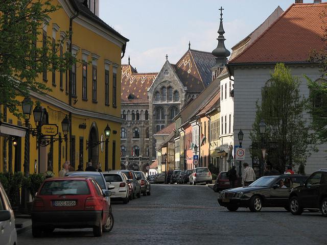 National Archive Buda Castle Budapest Katherine Hala