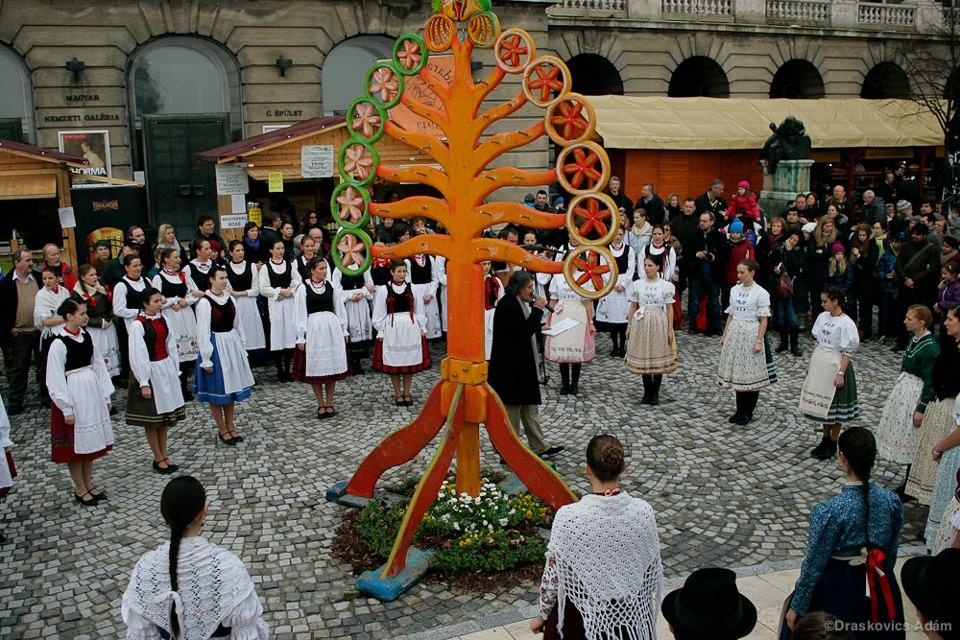 Buda Castle Easter Festival Tre of Life Folk Dancers
