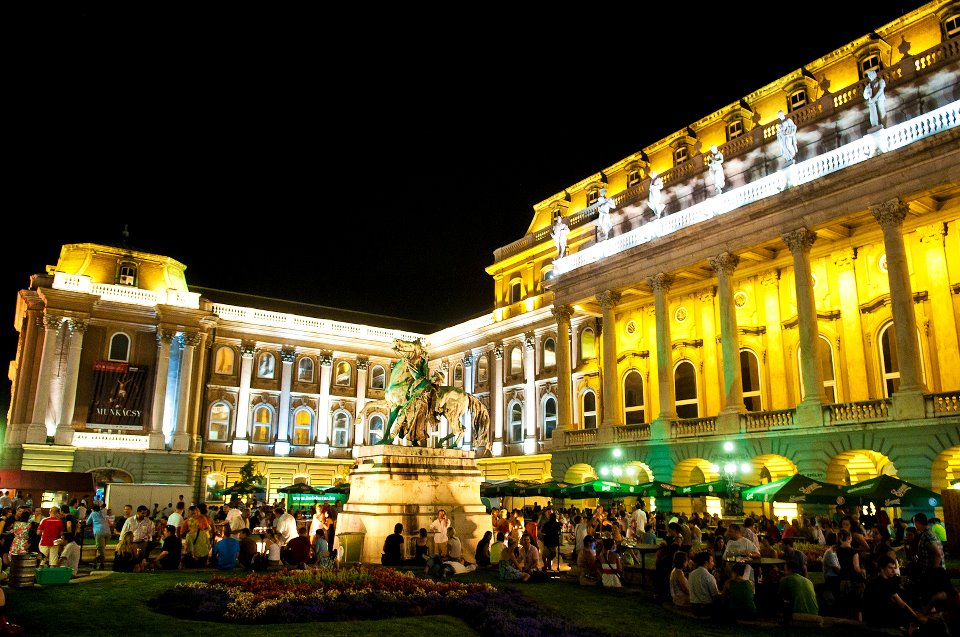 Buda Castle Night Beer Festival Hungary