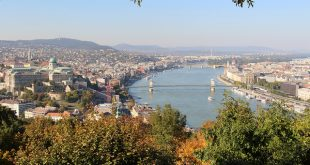 Buda Hills Budapest with Buda Castle
