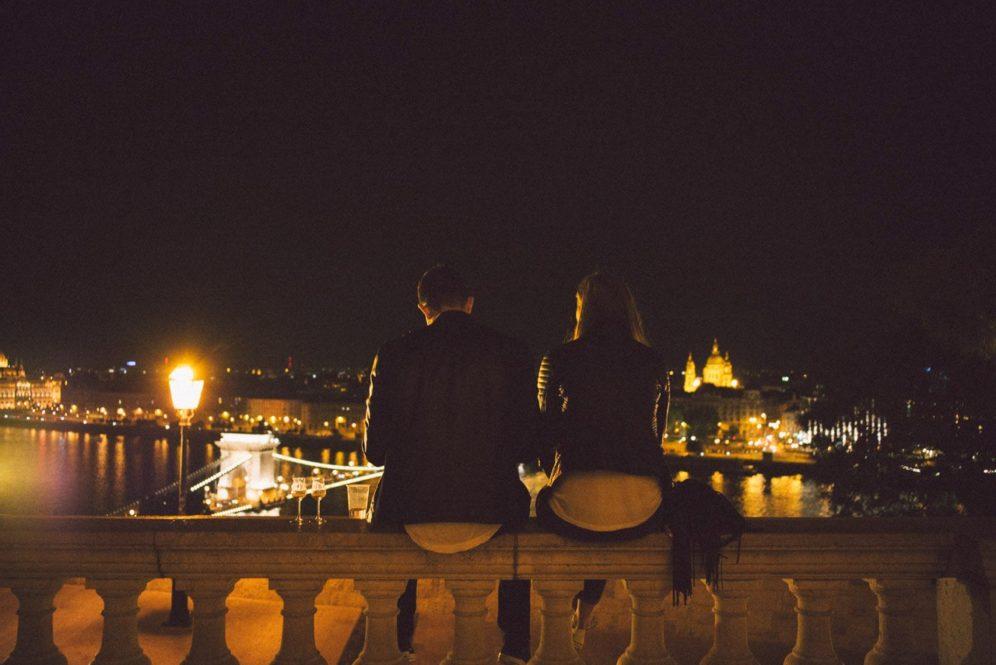 Buda-Castle-Palinka-Sausage-Festival-Budapest-Couple-View