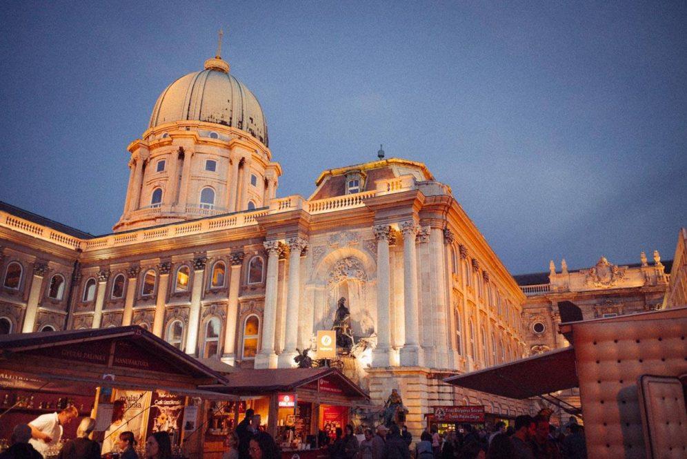 Buda-Castle-Palinka-Sausage-Festival-Budapest-Night
