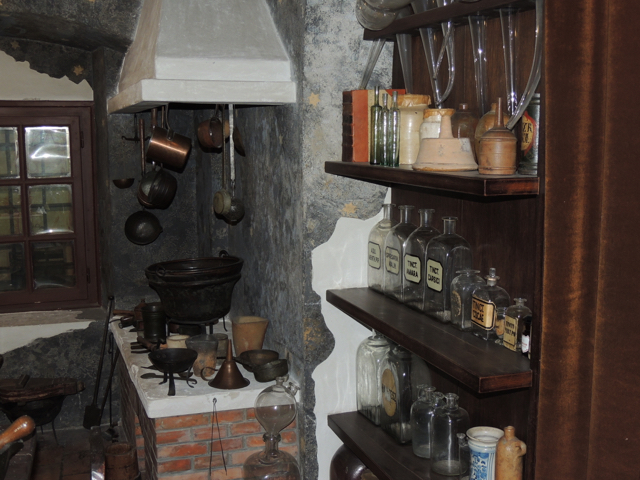 Golden Eagle Pharmacy Museum Alchemy Buda Castle