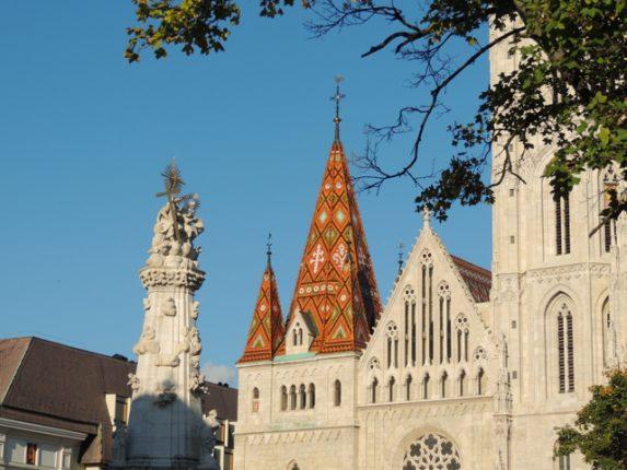 Matthias Church & the Holy Trinity Statue