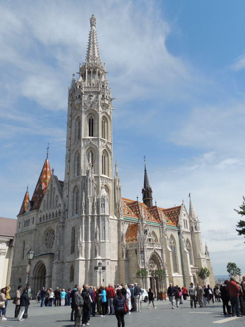 Matthias-Church-Buda-Castle-Sights