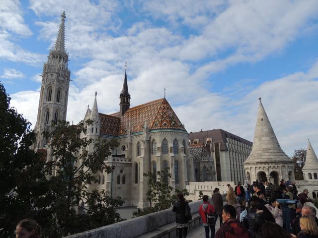 Matthias-Church-Buda-Castle-from-Fishermans-Bastion