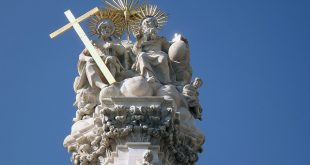 Holy Trinity Statue in Buda Castle, Budapest