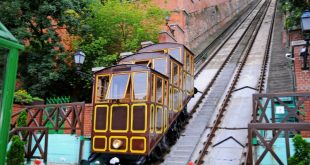 Funicular in Buda Castle, Budapest