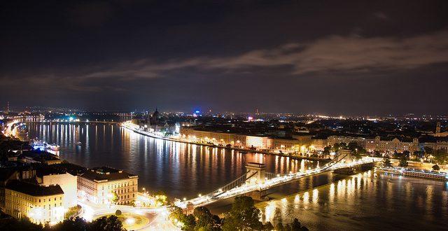 Budapest Night Panorama - photo by redteam
