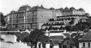Buda Castle Old Photo